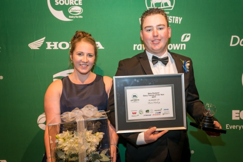 2017 Dairy Trainee of the Year Runner Up Ben Haley