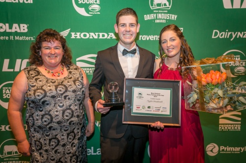 2017 Dairy Trainee of the Year Third Taylor Macdonald