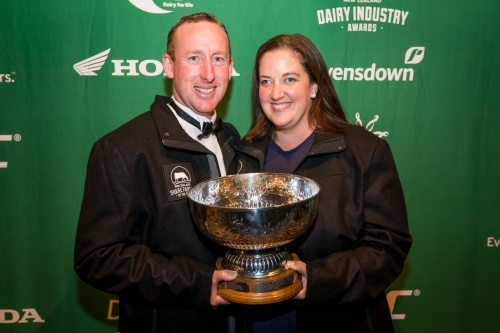 2017 NZDIA Share Farmer of the Year Christopher and Siobhan OMalley
