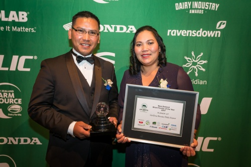 2017 Share Farmer of the Year Runner Up Carlos and Bernice Delos Santos