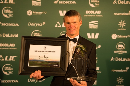 2018 NZDIA Dairy Manager of the Year Gerard Boerjan