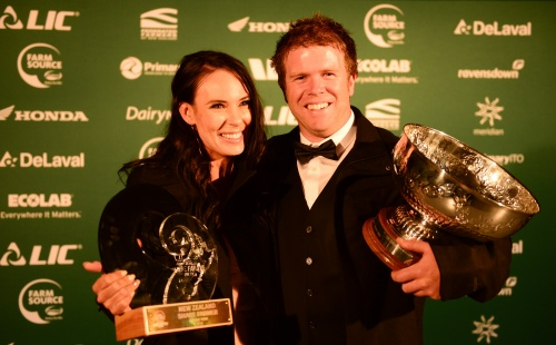 2018 NZDIA Share Farmers of the Year Daniel and Gina Duncan