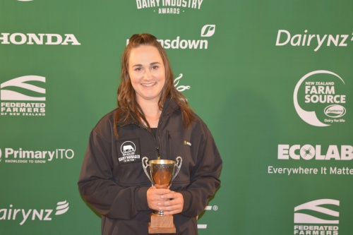Auckland Hauraki Dairy Manager of the Year Rachael Foy