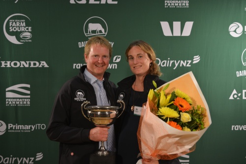 Bay of Plenty Share Farmers of the Year Cameron and Marg Bierre