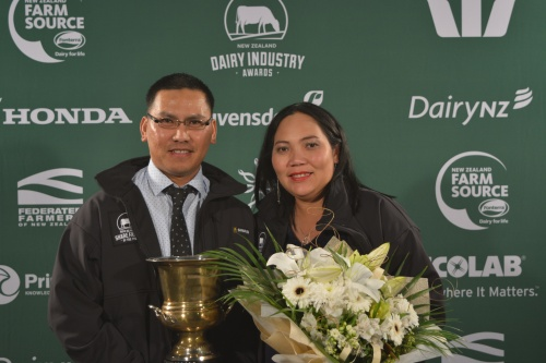 Cental Plateau Share Farmers of the Year Carlos and Bernice Delos Santos