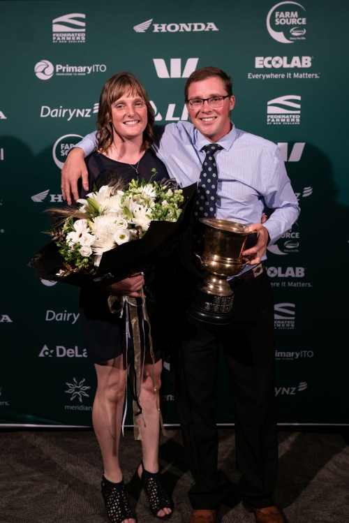 Central Plateau DIA Share Farmer of the Year David Noble and Katy Jones