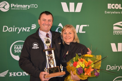 Hawkes Bay Wairarapa Share Farmers of the Year Rob and Shiralee Seerden