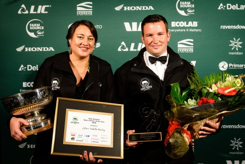 NZDIA National Share Farmer of the year Colin and Isabella Beazley