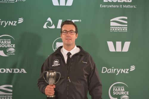 Northland Dairy Manager of the Year Greg Imeson