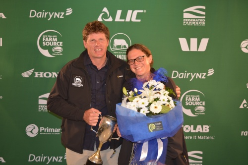 Northland Share Farmers of the Year Niall and Delwyn McKenzie