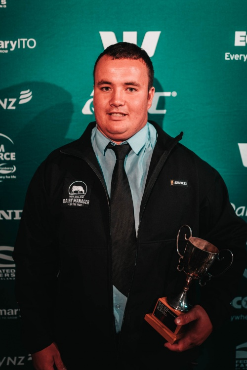 Southland DIA Dairy Manager of the Year James Matheson