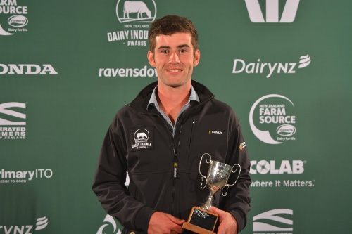 Southland Otago Dairy Trainee of the Year Ben Mclean