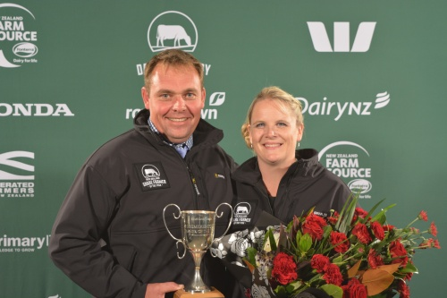 Southland Otago Share Farmers of the Year Russell and Tracy Bouma
