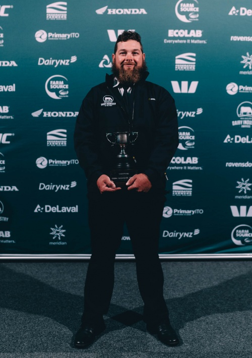 Taranaki DIA Dairy Manager of the Year Kenneth Harrison