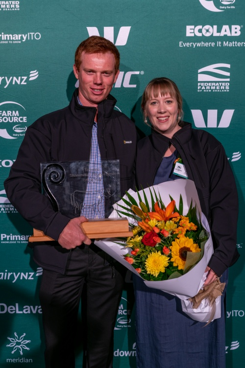 Taranaki DIA Share Farmer of the Year Simon and Natasha Wilkes