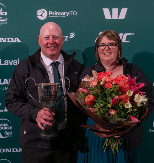 WCTOS DIA Share Farmers of the Year Noel and Louise Rockell