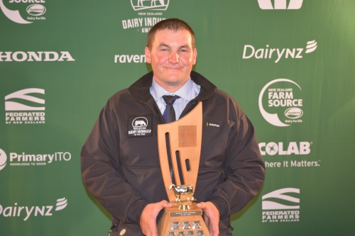 Waikato Dairy Manager of the Year Euan McLeod