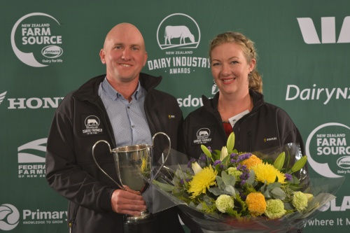 West Coast and Top of the South Share Farmers of the Year  Jon and Vicki Nicholls