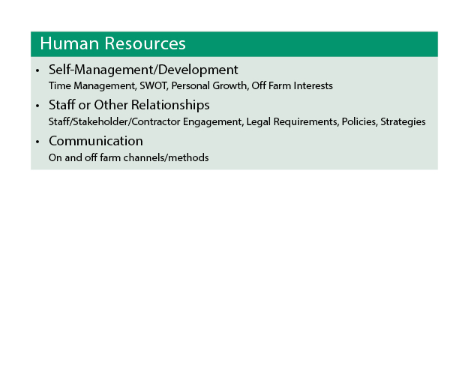 Share Farmer of the Year - Human Resources
